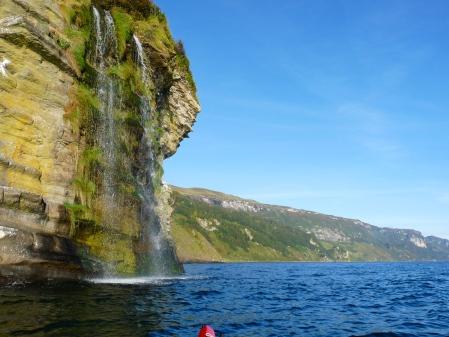 Raasay waterfall